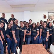 AGB Foundation Community Service team poses for a group photo