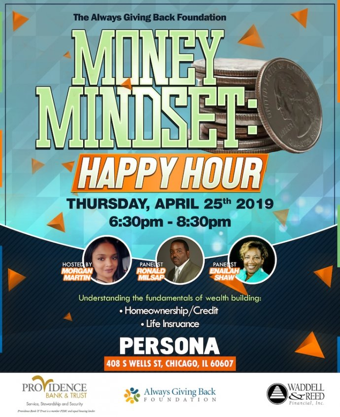 AGB Foundation presents a financial literacy event for young minority professionals on April 25, 2019