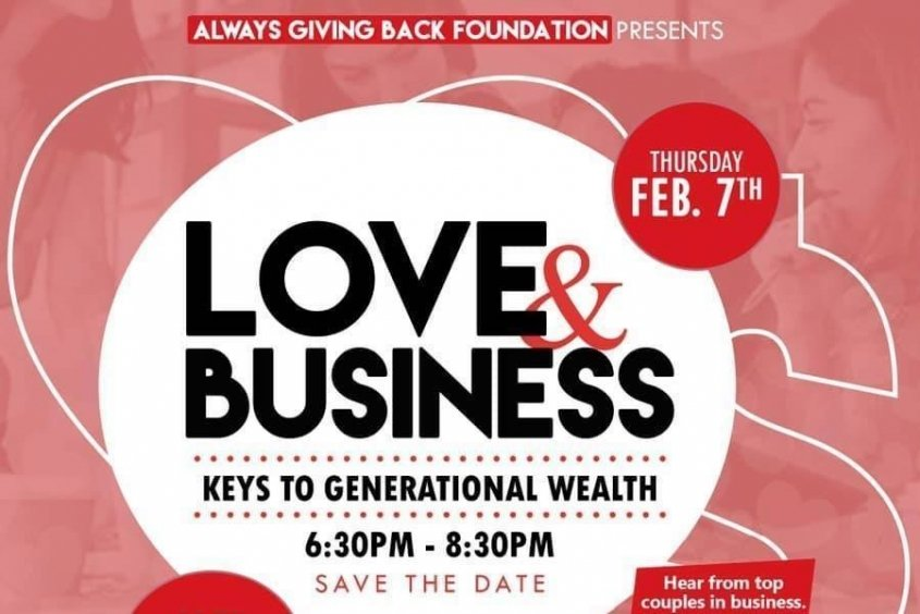 announcing Feb. 7 panel about Love & Business